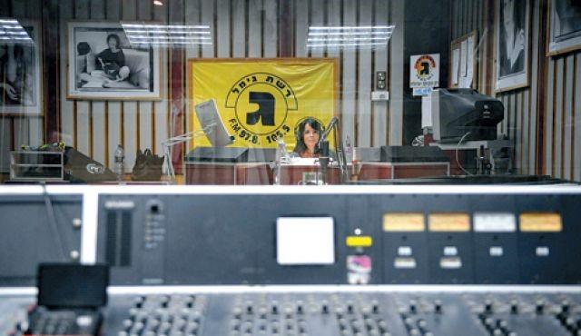 """Das Studio der """"Réscheth Gímel"""""""