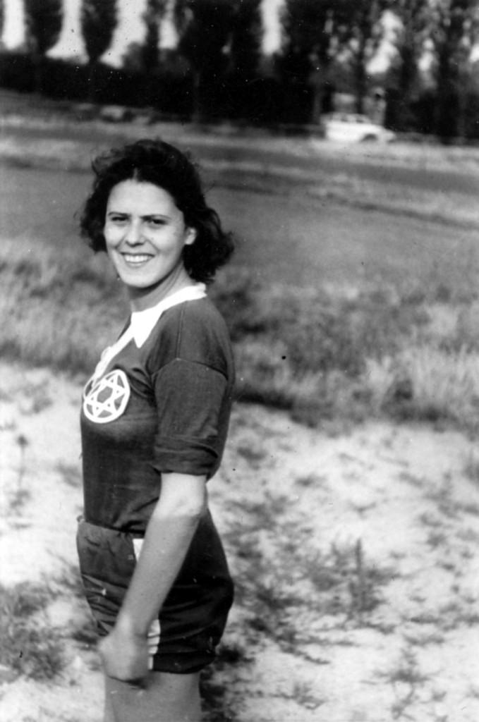 Ruth Galinski als junge Frau