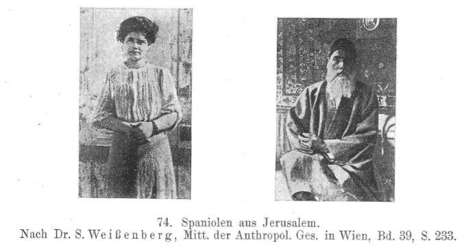 """""""Die spaniolischen Juden (Sephardim)"""" von Sigmund Feist (1925)"""
