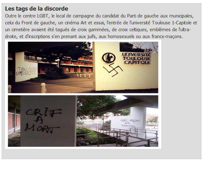 Antisemitische Beleidigungen in Toulouse