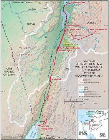 Israel, Jordanien und PA unterzeichnen historisches Wasser-Abkommen