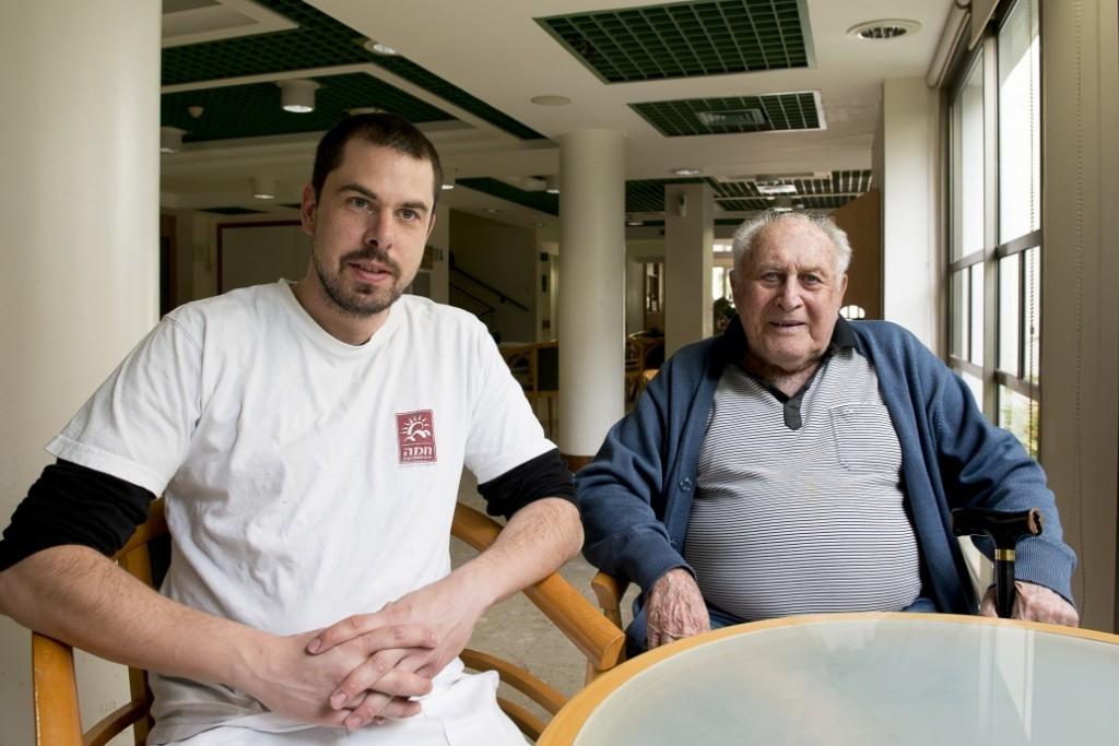 Yehuda Maimon und Oliver Vrankovic